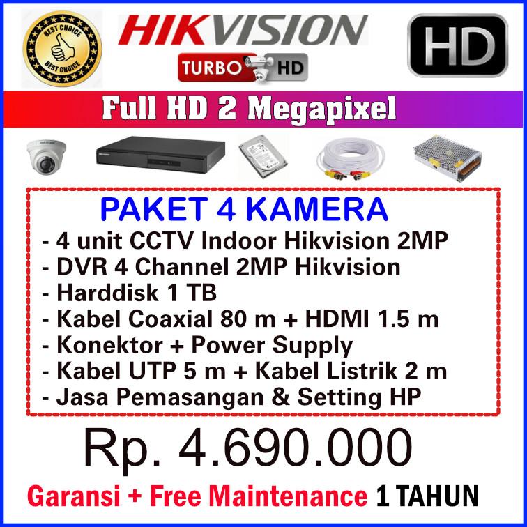 CCTV Cibubur - Paket CCTV Hikvision