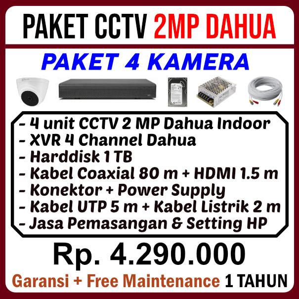 CCTV Cibubur - Paket CCTV Dahua